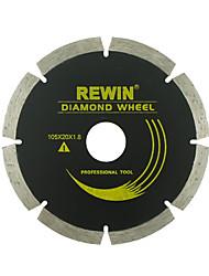 rewin® ferramenta de lâmina de diamante wjp-108b aplicável a materiais de dureza gerais refractários concreto etc.