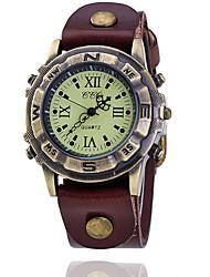 Men's Retro Personality Belt Watch Wrist Watch Cool Watch Unique Watch