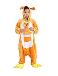 nuevo pijama de franela niños Kigurumi canguro cosplay® (sin zapatos)