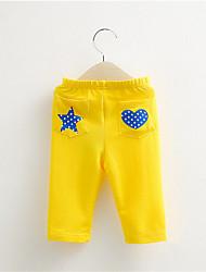 Pantaloni Maschile Con stampe Estate Cotone