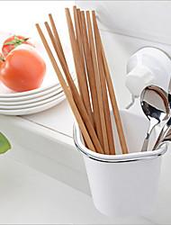 plastique caddy de stockage d'aspiration bien rangé à portée de main boîte organisateur utilitaire outil de nettoyage de la cuisine