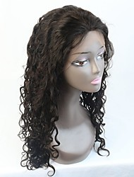 8-24 Inch In Stock Curly Brazilian Virgin Human Hair Full/Lace front Wig For Black Women