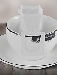 café do gotejamento filtro de café de papel de filtro filtro de saco portátil de espuma, conjunto de 50