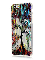 Para Funda iPhone 6 / Funda iPhone 6 Plus Diseños Funda Cubierta Trasera Funda Árbol Suave TPU iPhone 6s Plus/6 Plus / iPhone 6s/6