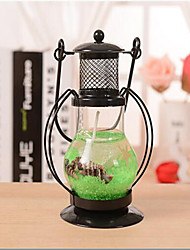 Aladdin's lamp Hanging Glass Stand Candle Holder Tea Light CandleStick Random Color