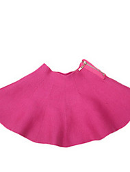 Girl's Black / Brown / Green / Pink / Red Skirt Cotton Summer / Spring
