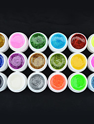 40215 China Factory Hot Sale 5ml 18 Colors GDCOCO Beautiful Color UV Glitter Gel
