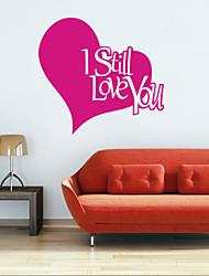 Worte & Zitate / Romantik / Formen Wand-Sticker Flugzeug-Wand Sticker,vinyl 43*46cm