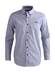 JamesEarl Herren Hemdkragen Lange Ärmel Shirt & Bluse Schwarz-DA112046026