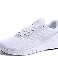 Sapatos Corrida Feminino Preto / Branco / Preto e Branco Tule / Tecido