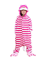 nueva cosplay® gato rosa pijama de franela niños Kigurumi (sin zapatos)