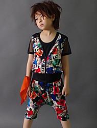 Boy's Summer Fashion Perform Street Dancing Three-piece