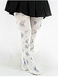 Sweet Lolita Socks & Stockings Pink Nylon Lolita Accessories