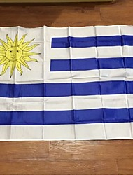 Uruguay Flag Polyester Flag 5*3 Ft 150*90 Cm High Quality Cheap Price In-Kind Shooting(Without flagpole)
