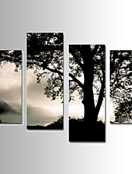 Landscape Canvas Print Four Panels Ready to Hang,Any Shape(No Frame)
