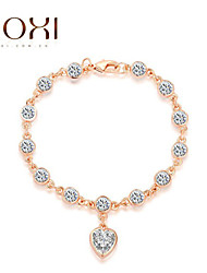 18k goud / zilver kristal armband armband sieraden voor dames