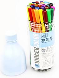 Plastic Cute Water Color Pens(36pcs)