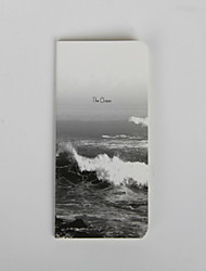 1PC Creative Stationery Look At The Sea Car Line Notebook(Style random)