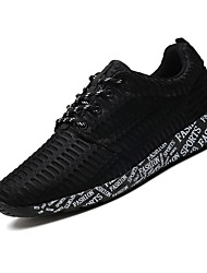 Men's Sneaker Shoes Tulle Black / White / Gray