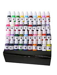40 cores tatuagem tintas pigmentadas 8ml oferta set tatuagem