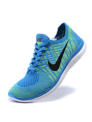 Nike FREE 4.0 FLYKNIT Women's Shoes Fabric Fashion Sneakers Black / Blue / Yellow / Purple / Black and White / Burgundy