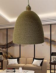 12W Vintage LED Others Metal&Rope Pendant Lights Living Room / Bedroom / Dining Room / Study Room/Office / Hallway