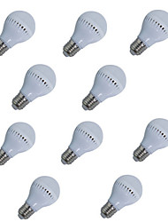 10pcs HRY® 5W E27 400LM 18XSMD2835 LED Globe Bulbs LED Light Bulbs(220V)
