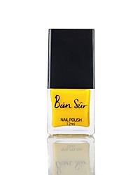 Bright Yellow Water-based Nail Polish
