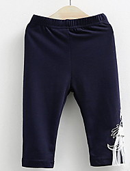 BK  BK Fashion Cute Girls Bow Leggings Pants 2016 Summer Kids' Clothing