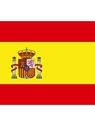 Spain Flag Nation Polyester Banner Flying Custom Flag All Over The World Worldwide Outdoor(No flagpole)