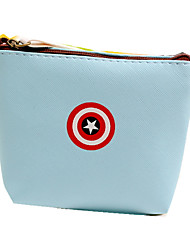 American Heroes Mini Leather Coin Purse Key Wallet Pouch Mini Wallet Multi-Function Storage Bag