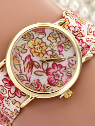 Women's Fashionable Leisure Multicolor Printed Scarves Watch Cool Watches Unique Watches