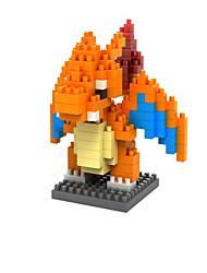 Für Geschenk Bausteine Plastik Weiß / Orange Spielzeuge