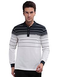 Seven Brand® Men's Shirt Collar Long Sleeve T Shirt White-799T501580