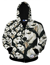 Men's Long SleevePolyester Print