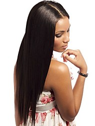 Peruvian Virgin Silky Straight Full Lace Human Hair Wigs with Baby Hair Be Ponytail For Women