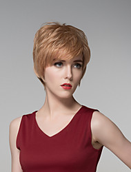 Cool Short Bob Curly Wave  Remy Hand Tied-Top Capless Hair Wigs