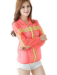 Female long-sleeved Section Hooded Outdoor UV Sun Protection Clothing