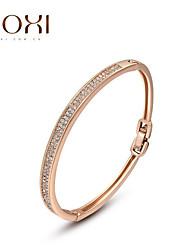 18k or de cristal bijoux bracelet bracelet pour dame