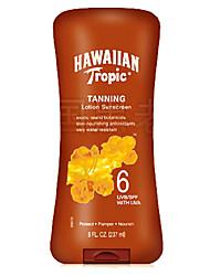 Hawaiian Tropic Hawaii Quick Beauty Black Dark Tanning Deep Bronze Tanning Lotion SPF6 1Pc 237ml