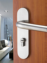 Dorlink® Classic Stainless Steel Silver Keyed Entry Door Lock