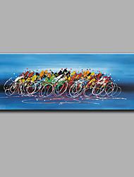 Ручная роспись фантазияModern 1 панель Холст Hang-роспись маслом For Украшение дома
