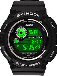 Sports Mountaineering Waterproof Multifunction Electronic Watch Students Watch Men's Fashion