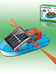Azul / Naranja Powered Gadgets solares / juguetes de bricolaje para el muchacho ABS