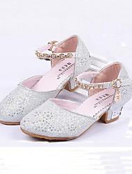 Tacón Bajo-Confort Light Up Zapatos-Tacones-Boda Vestido Informal-Purpurina-Azul Rosa Plata Oro