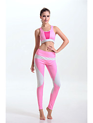 Women's Sleeveless Running Sports Bra Pants/Trousers/Overtrousers Clothing Sets/Suits BottomsQuick Dry Lightweight Materials