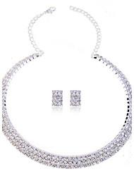 Fashion Summer Jewelry Pearl Jewelry Set Necklace/Earrings