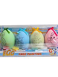 ovos da coloração aquarela diy