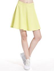 Meters/bonwe® Women's Knee-length Skirt-258002