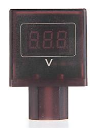 DC 30V-100V Red LED Digital Voltmeter Volt Meter Gauge for 36V/48V Electric Bike